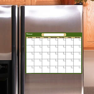Forest & Khaki Dry Erase Small Blank Month Calendar  Fathead Decal