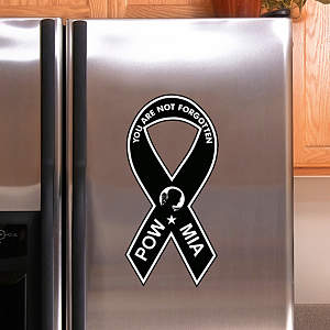 POW MIA Awareness Ribbon Fathead Decal