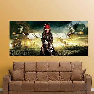 Pirates of the Caribbean: On Stranger Tides Mural Fathead Wall Decal