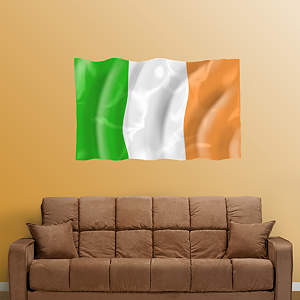 Flag of Ireland Fathead Wall Decal