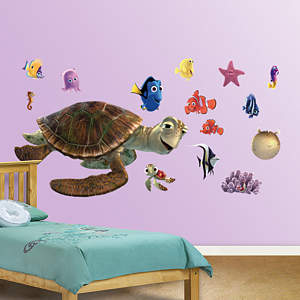 Nemo & Friends Collection Fathead Wall Decal