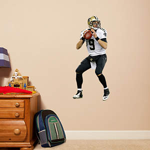 Drew Brees - Fathead Jr Fathead Wall Decal