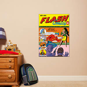 Flash Comics #1 Cover Fathead Wall Decal