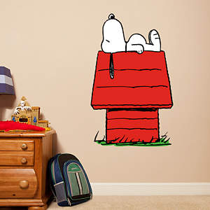 Small Snoopy Fathead Vinyl Wall Decal Collection