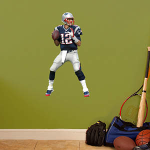 Tom Brady  - Fathead Jr Fathead Wall Decal