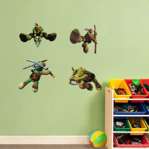 TMNT Fathead Jr Vinyl Wall Decal Collection
