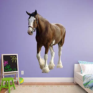 Clydesdale Fathead Wall Decal