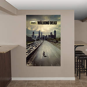 The Walking Dead - Freeway Mural Fathead Wall Decal