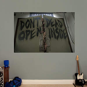 Don't Open Dead Inside Mural Fathead Wall Decal