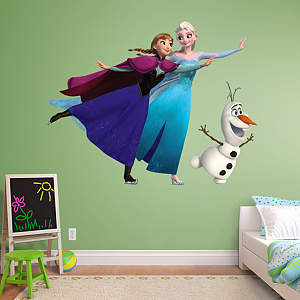 Disney Frozen Ice Skating Collection wall graphics