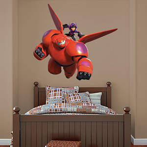 Baymax & Hiro Fathead Wall Decal