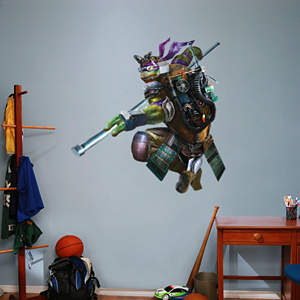 Donatello - TMNT Movie Fathead Wall Decal