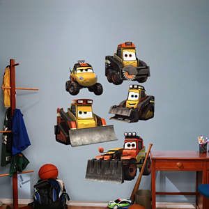 Smoke Jumpers Collection Fathead Wall Decal