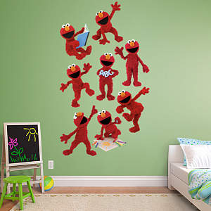 Cookie monster collection wall decal shop fathead for for Elmo wall mural