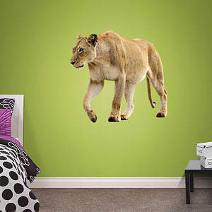 Lioness Fathead Wall Decal