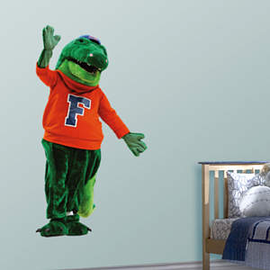 Florida Mascot - Albert Fathead Wall Decal