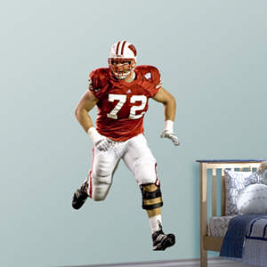 Joe Thomas Wisconsin Fathead Wall Decal