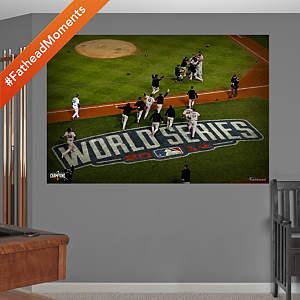 San Francisco Giants 2014 World Series Celebration Overhead Mural Fathead Wall Decal