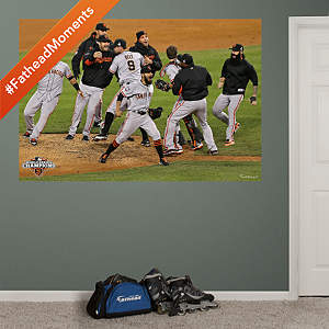 San Francisco Giants 2012 World Series Celebration Mural Fathead Wall Decal