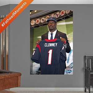 Jadeveon Clowney Draft Day Mural Fathead Wall Decal