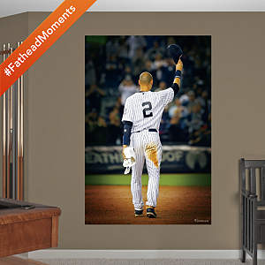 Vinyl Mural Wall Decal of Derek Jeter