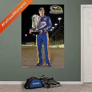 Brad Keselowski 2012 Sprint Cup Champion Mural Fathead Wall Decal