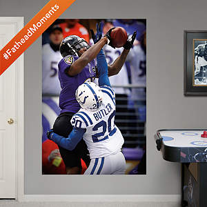 Anquan Boldin Touchdown Catch Mural  Fathead Wall Decal