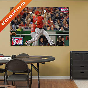 Albert Pujols - 500th Home Run Mural Fathead Wall Decal
