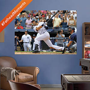 Derek Jeter 3000th Hit Mural Fathead Wall Decal