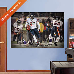 Devin Hester Return Record - In Your Face Mural Fathead Wall Decal