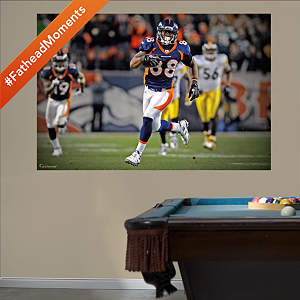Demaryius Thomas Overtime Touchdown Mural Fathead Wall Decal