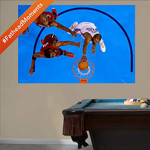 Kevin Durant Overhead Dunk 2012 NBA Finals Mural Fathead Wall Decal
