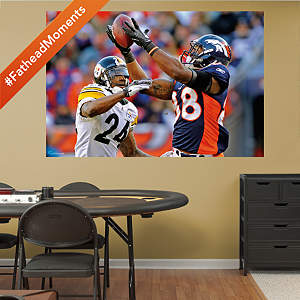 Demaryius Thomas Playoffs Mural Fathead Wall Decal
