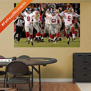Giants NFC Championship Celebration Mural Fathead Wall Decal