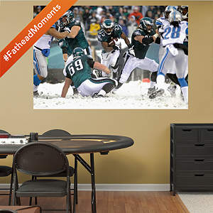 LeSean McCoy - 2013 Snow Mural Fathead Wall Decal