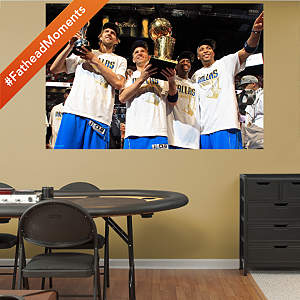 Dallas Mavericks NBA Finals Champions Mural Fathead Wall Decal