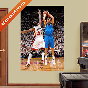 Dirk Nowitzki - NBA Finals MVP Mural Fathead Wall Decal