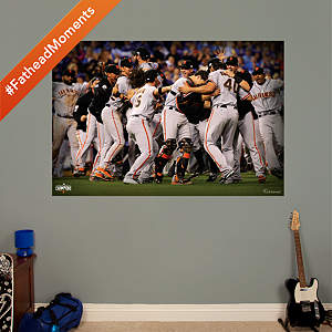 Giants World Series Celebration wall mural