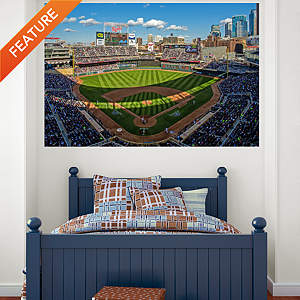 Inside Target Field Mural Fathead Wall Decal