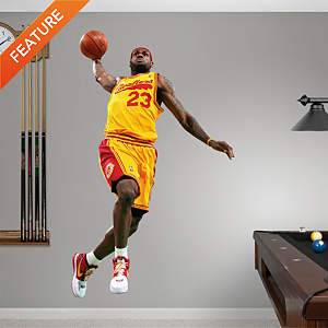 LeBron James Throwback - 2009 MVP Fathead Wall Decal