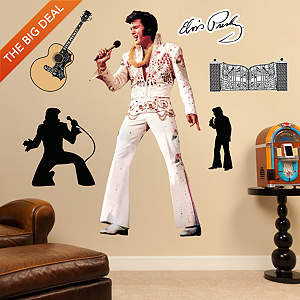 Elvis Presley – The King of Rock 'n' Roll Fathead Wall Decal