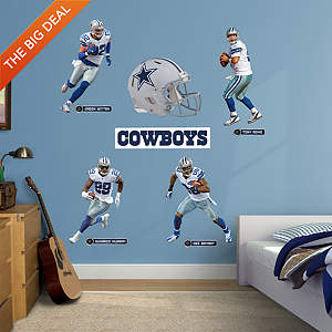 Dallas Cowboys Power Pack Fathead Wall Decal