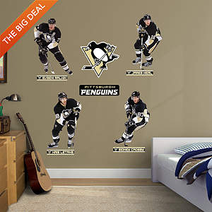 Pittsburgh Penguins Power Pack Fathead Wall Decal