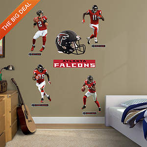 Atlanta Falcons Power Pack Fathead Wall Decal