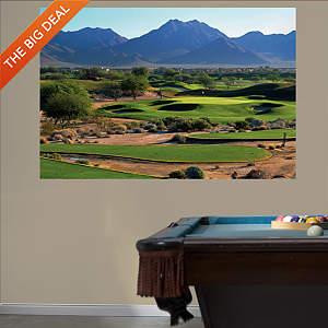 PGA TOUR TPC Scottsdale Hole 16 Mural Fathead Wall Decal
