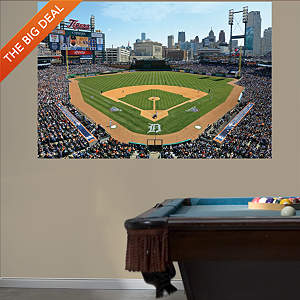Inside Comerica Park 2013 Mural Fathead Wall Decal