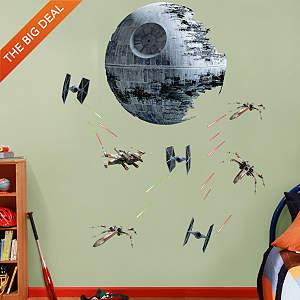Death Star Battle Fathead Wall Decal