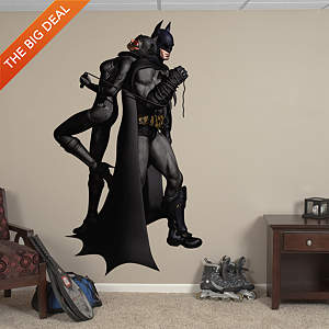 Batman Catwoman Duo: Arkham City Fathead Wall Decal