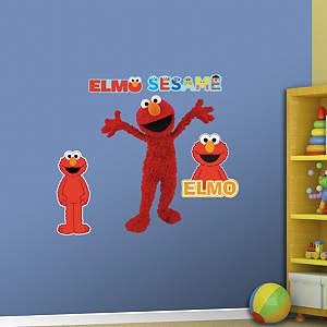 Elmo Fathead Wall Decal for Kids Room