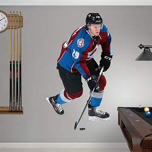 Life Size Nathan MacKinnon Fathead Wall Decal